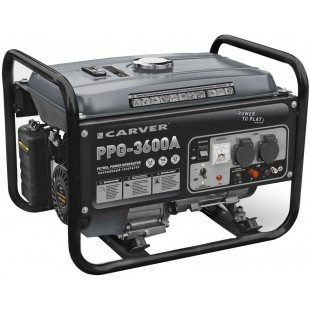 Бензогенератор Carver PPG-3600A