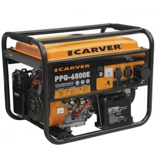 Бензогенератор Carver PPG-6500E