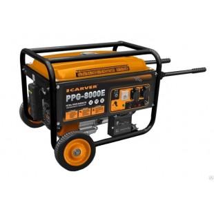 Бензогенератор Carver PPG-8000E