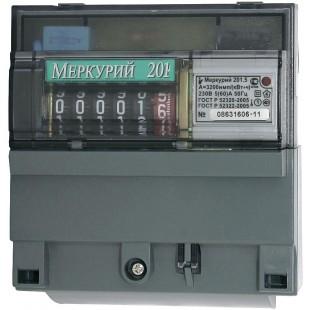 Счетчик электроэнергии Меркурий 201.5 (однофазный, однотарифный)