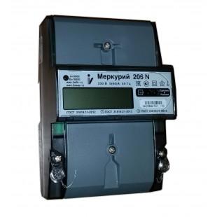 Счетчик электроэнергии Меркурий 206 (однофазный, 2x тарифный)