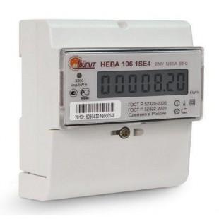 Счётчик электроэнергии  НЕВА 106 (однофазный, однотарифный)