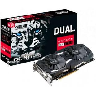 Видеокарта ASUS- Radeon DUAL-RX580-08G