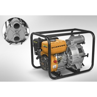 Мотопомпа для грязной воды Carver CGP 5580D