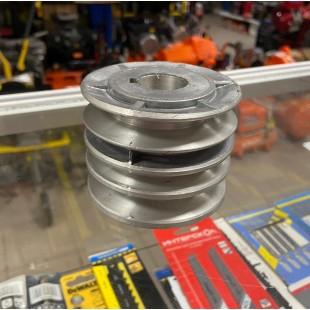 Шкив на мотоблок 3х ручейковый D25 мм на двигатели 9,11,13,15 лс