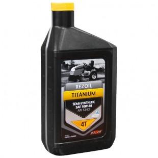 Полусинтетическое моторное масло для четырехтактных двигателей Rezoil TITANIUM 4T