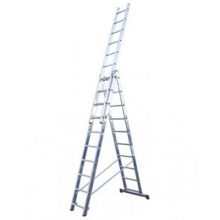 Лестница-стремянка трехсекционная MaxHome 3х10