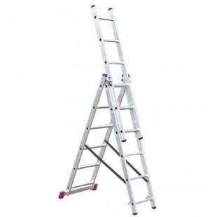 Лестница-стремянка трехсекционная MaxHome 3х6