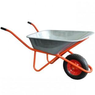 Тачка строительная Литое колесо Электросила 250 кг
